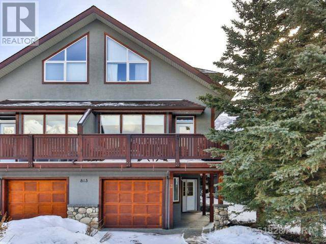 Townhouse for sale at 813 6th St Unit 3 Canmore Alberta - MLS: 51828