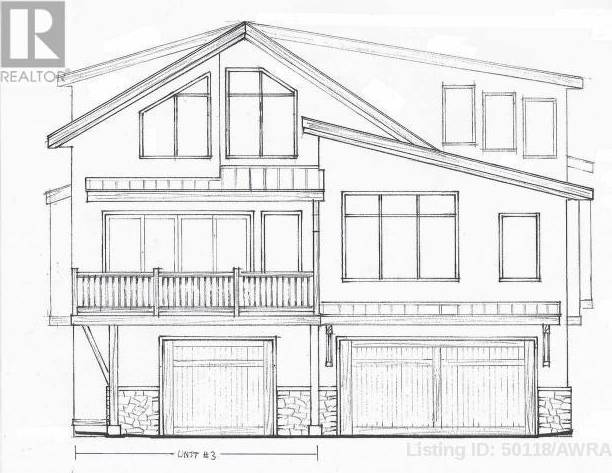 Townhouse for sale at 822 3rd St Unit 3 Canmore Alberta - MLS: 50118