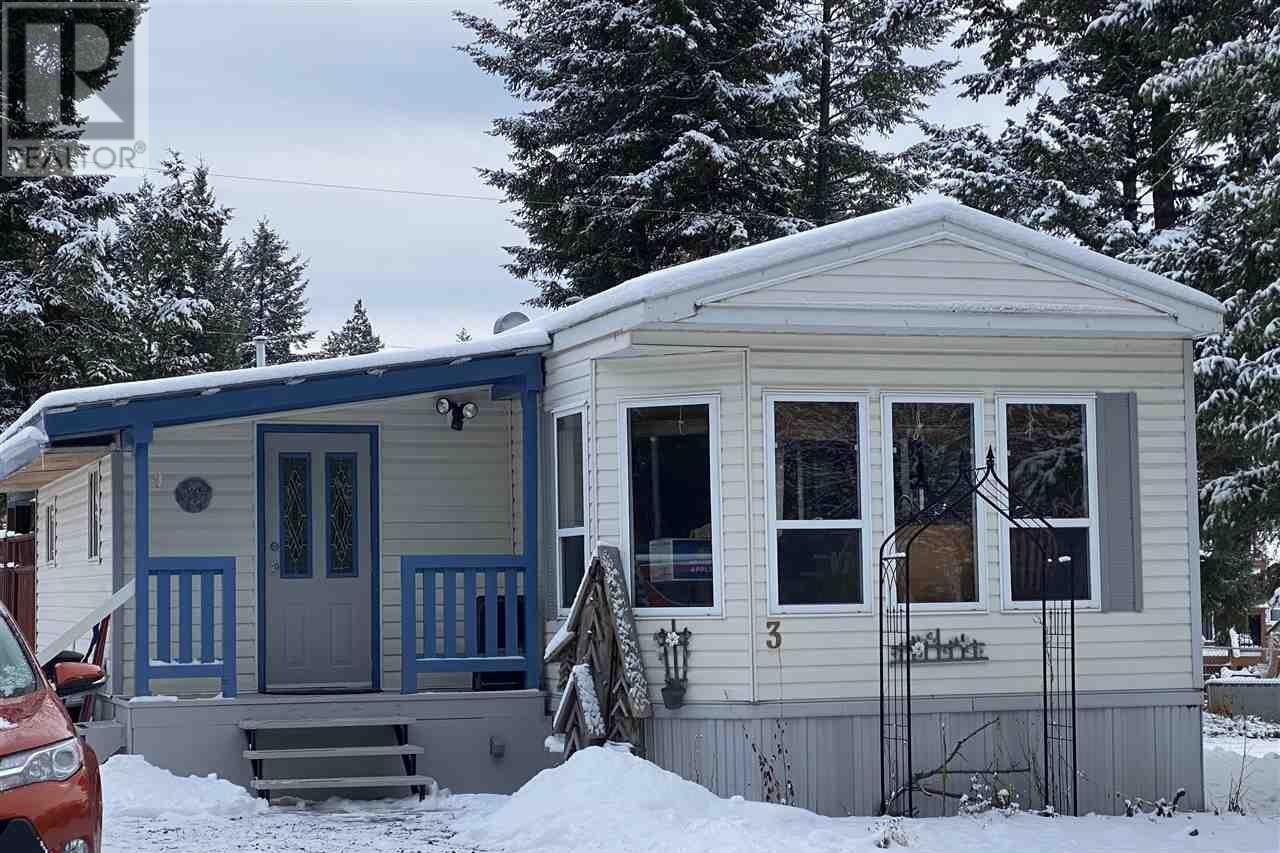 Home for sale at 997 Chilcotin 20 Hy Unit 3 Williams Lake British Columbia - MLS: R2517836