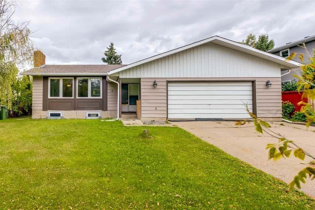 House for sale at 3 Alcott Cr St. Albert Alberta - MLS: E4212924