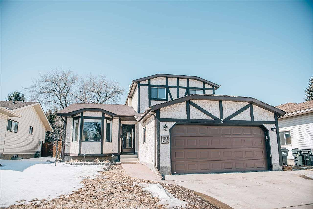 House for sale at 3 Coachman Ct Sherwood Park Alberta - MLS: E4194332