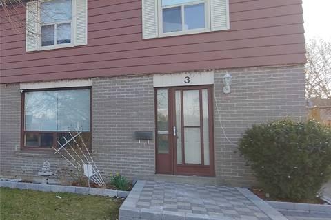 Townhouse for sale at 3 Deeside Cres Brampton Ontario - MLS: W4740728