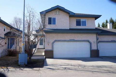 Townhouse for sale at 3 Estates Ct Sherwood Park Alberta - MLS: E4153503