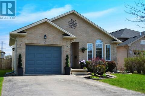 House for sale at 3 Glenview Ct St. Thomas Ontario - MLS: 195245