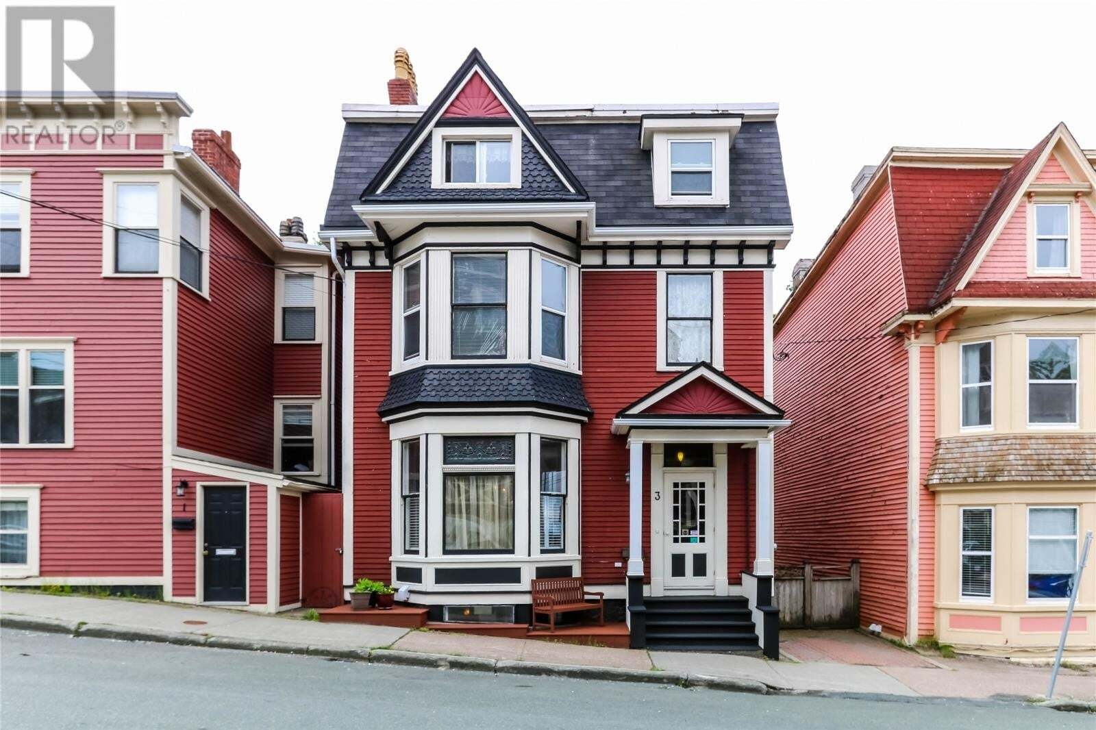 Commercial property for sale at 3 Gower St St. John's Newfoundland - MLS: 1216446