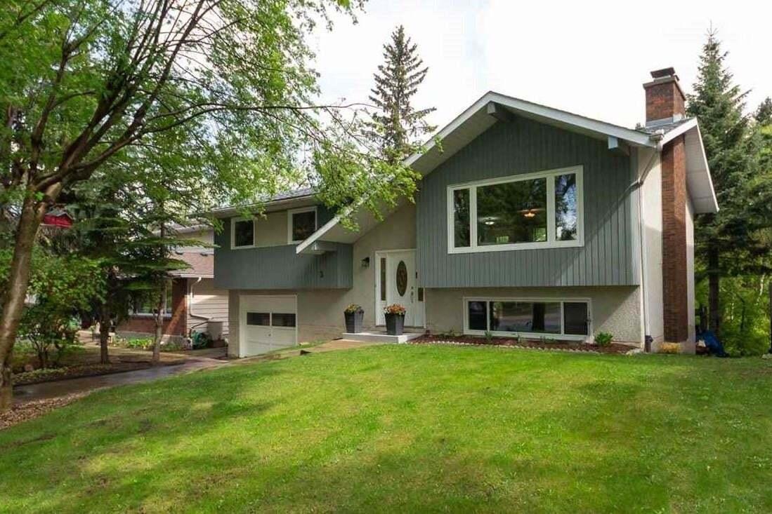 House for sale at 3 Greenwood Pl St. Albert Alberta - MLS: E4198923