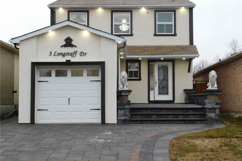 House for sale at 3 Longstaff Dr Ajax Ontario - MLS: E4414952