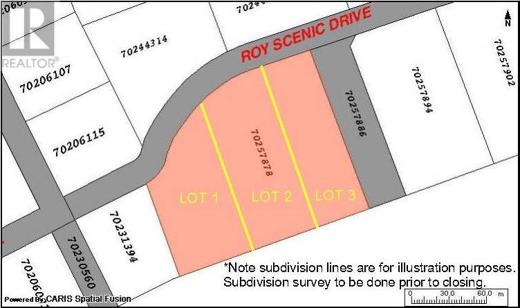 Residential property for sale at 0 Roy Scenic Dr Unit 3 Irishtown New Brunswick - MLS: M120312