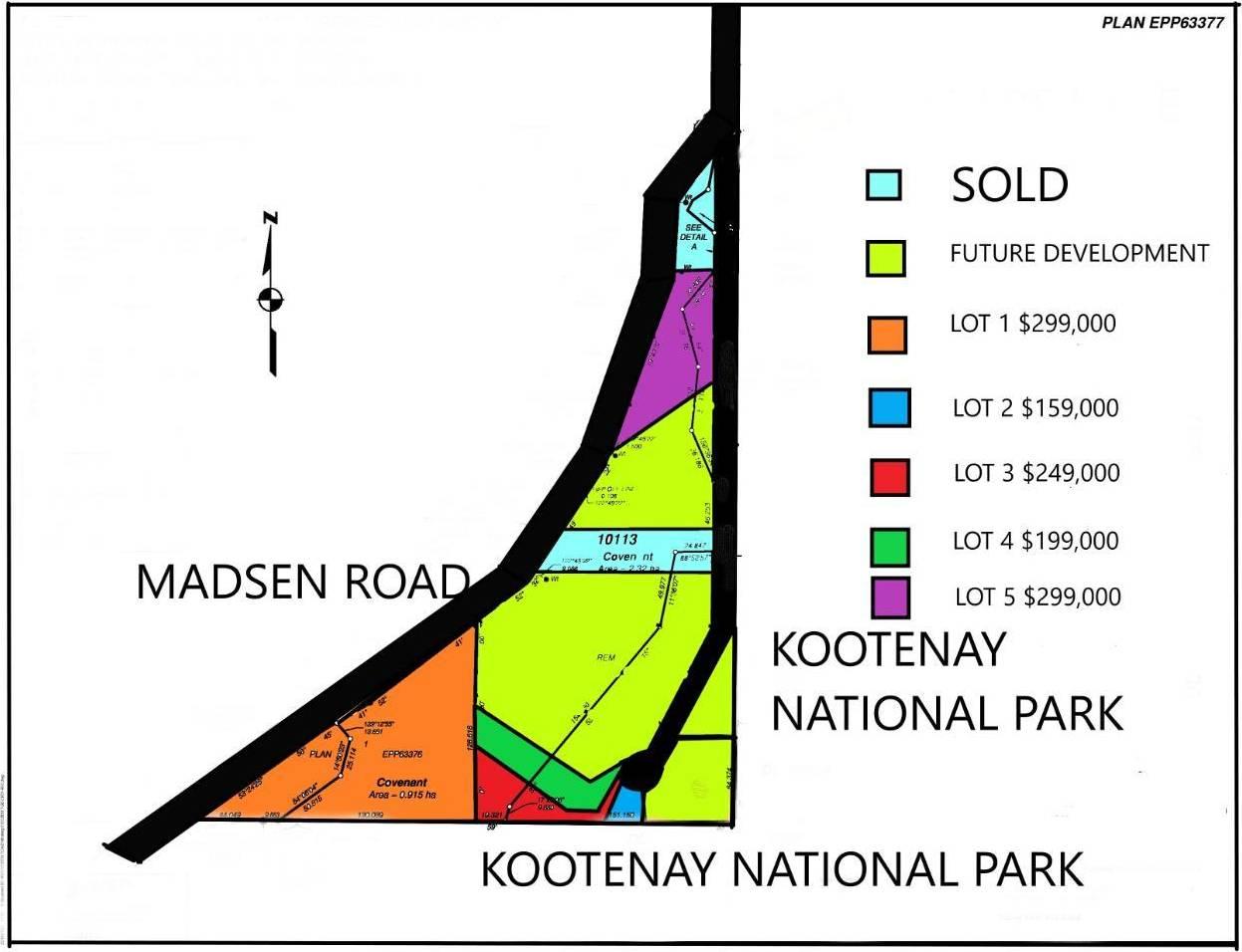 Residential property for sale at Lot 3 Wilderness Ridge  Unit 3 Radium Hot Springs British Columbia - MLS: 2441748