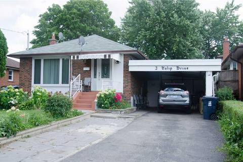 House for sale at 3 Tulip Dr Toronto Ontario - MLS: E4518169