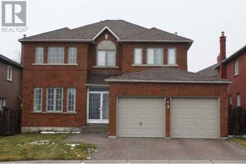 House for rent at 3 Turnberry Cres Markham Ontario - MLS: N4415006
