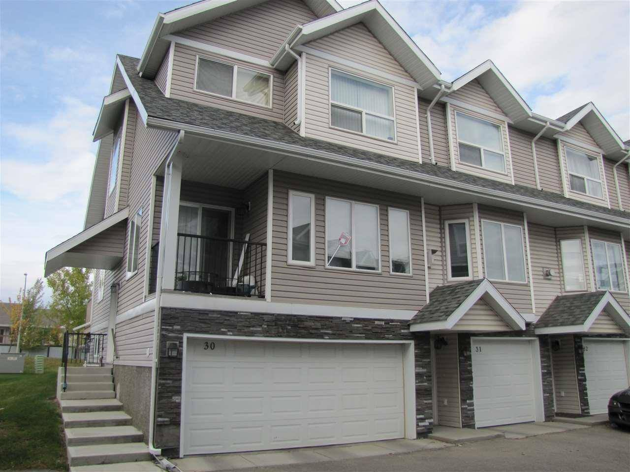 Townhouse for sale at 13215 153 Ave Nw Unit 30 Edmonton Alberta - MLS: E4176401