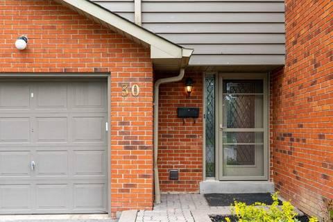 Condo for sale at 1855 Maple Ridge Dr Unit 30 Mississauga Ontario - MLS: W4452580