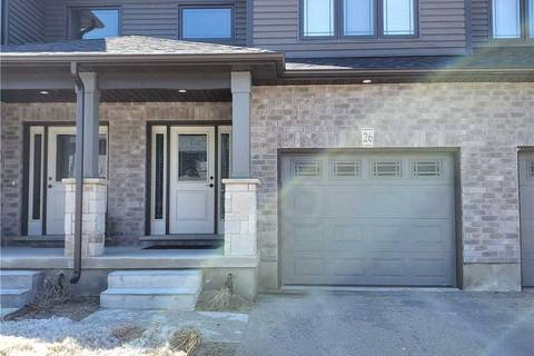Condo for sale at 26 Lawson St East Luther Grand Valley Ontario - MLS: X4730658