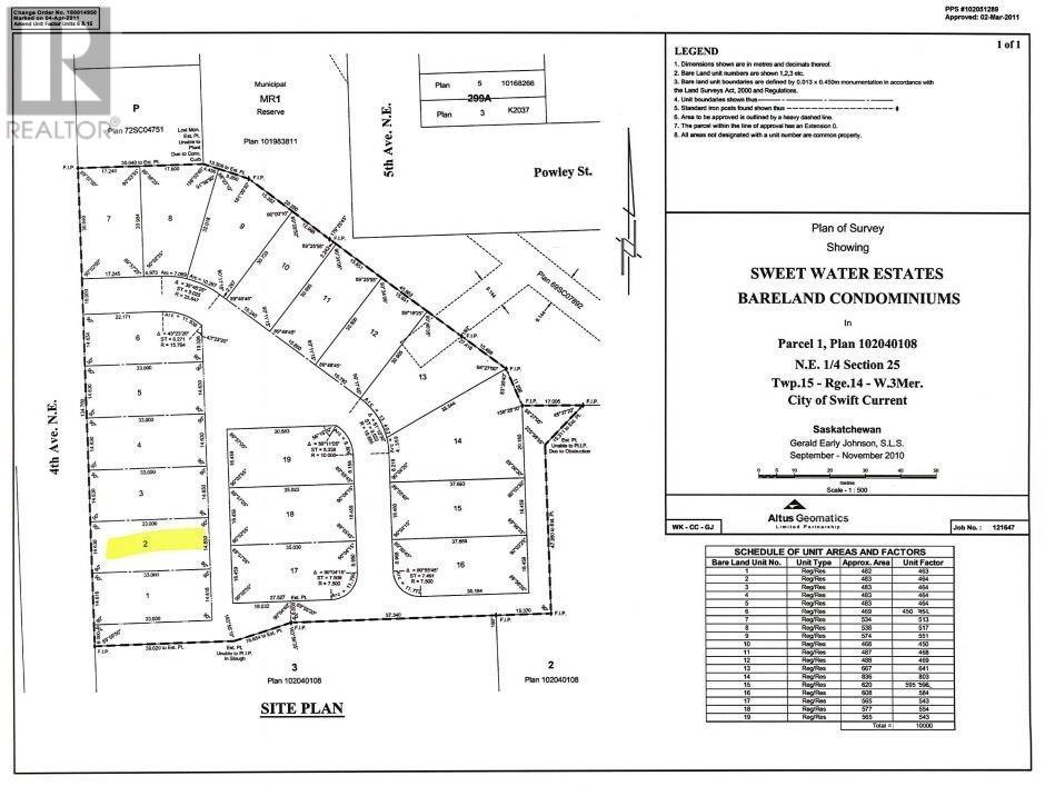 Buliding: 533 4th Avenue Northeast, Swift Current, ON