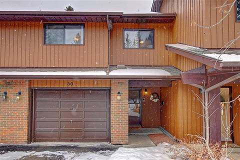 Townhouse for sale at 7900 Silver Springs Rd Northwest Unit 30 Calgary Alberta - MLS: C4292898