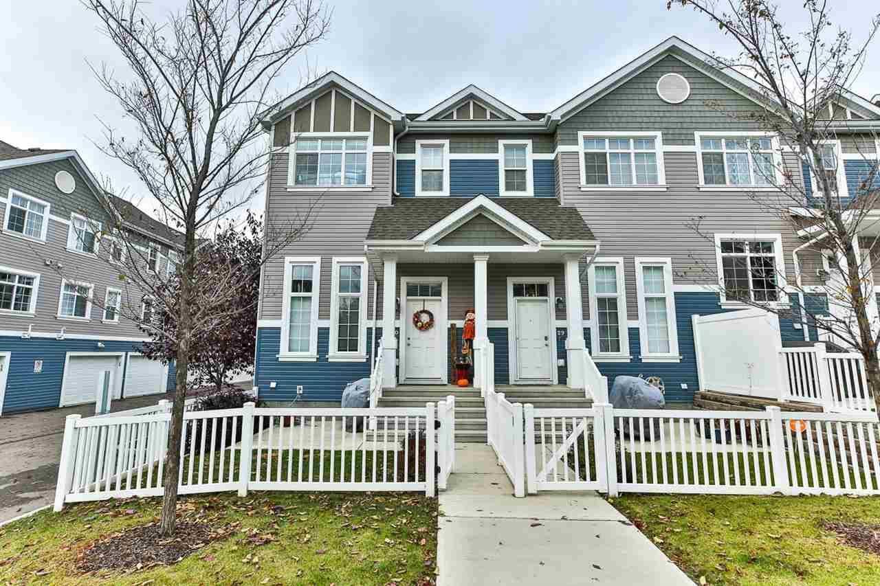 Townhouse for sale at 9151 Shaw Wy Sw Unit 30 Edmonton Alberta - MLS: E4177225