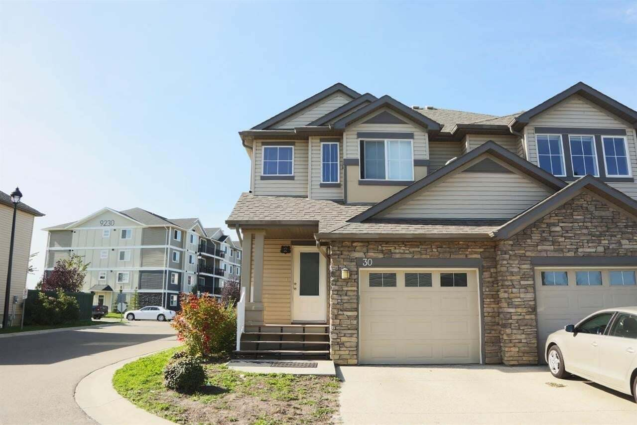 Townhouse for sale at 9231 213 St NW Unit 30 Edmonton Alberta - MLS: E4197954