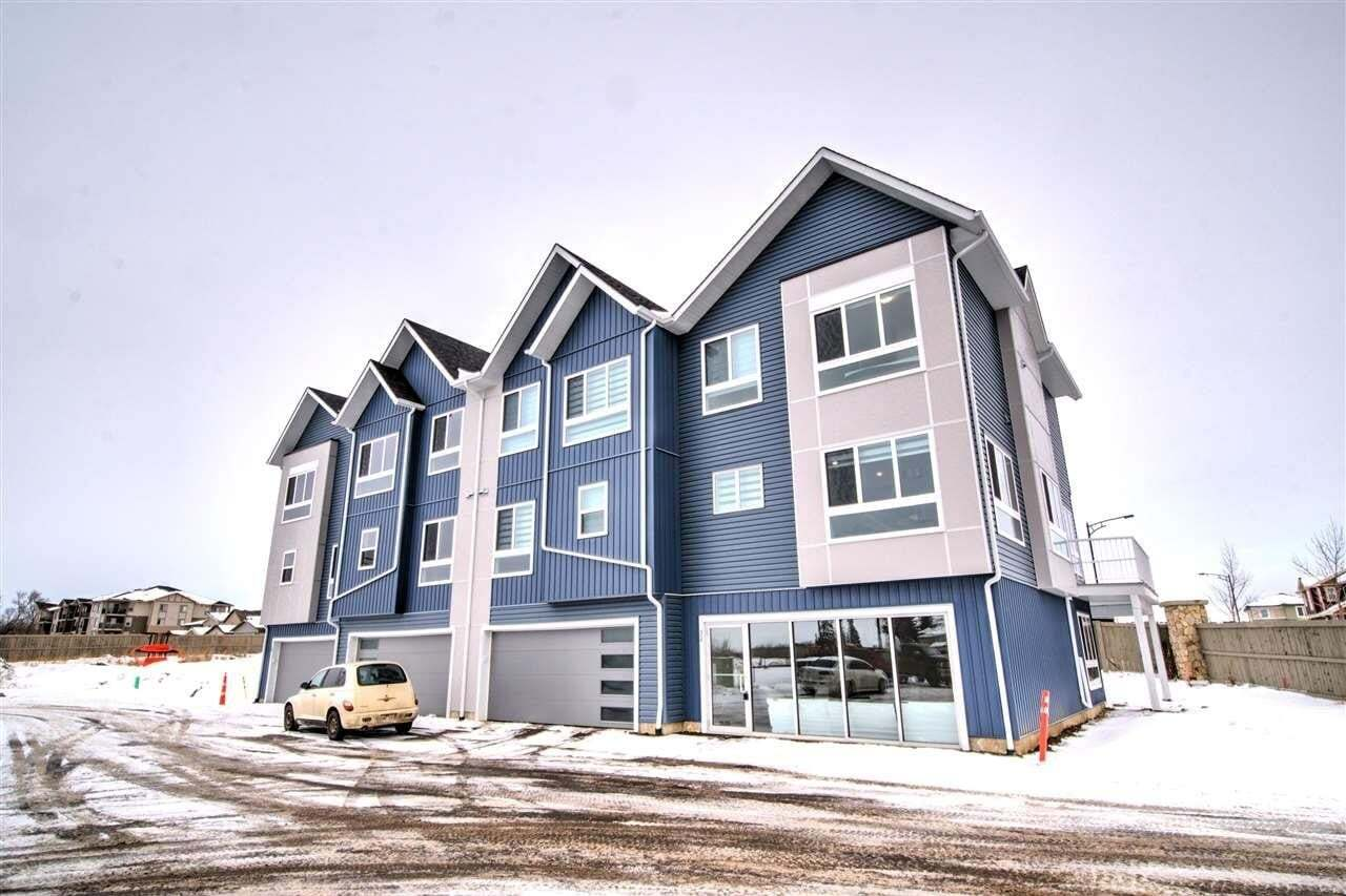 Townhouse for sale at 979 Crystallina Nera Wy NW Unit 30 Edmonton Alberta - MLS: E4206577
