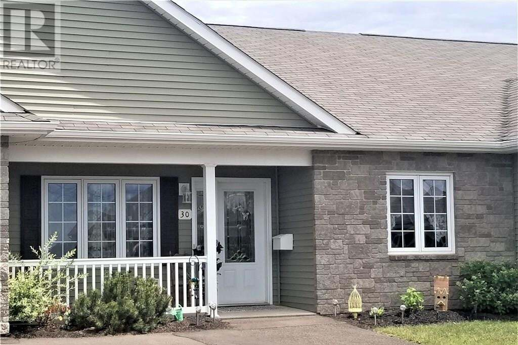 Townhouse for sale at 30 Adelie Ln Moncton New Brunswick - MLS: M129433