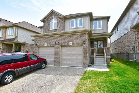 Townhouse for sale at 30 Ambrous Cres Guelph Ontario - MLS: X4446127