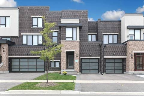 Townhouse for sale at 30 Anchusa Dr Richmond Hill Ontario - MLS: N4600094