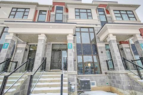 Townhouse for sale at 30 Armillo Pl Markham Ontario - MLS: N4606200