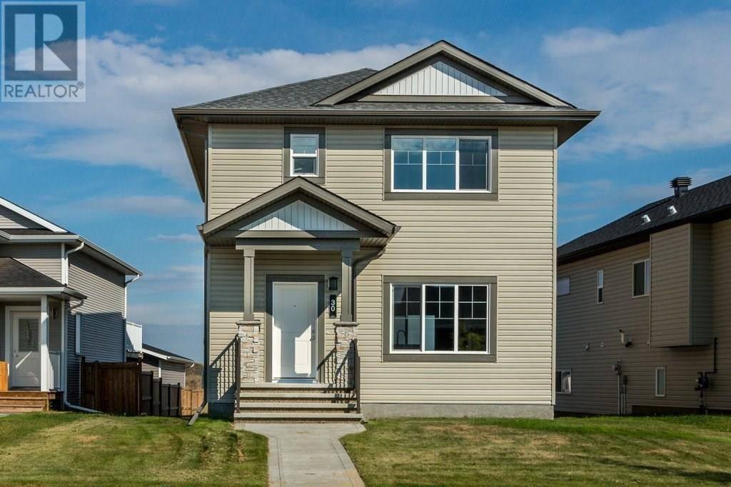 House for sale at 30 Aurora Heights Blvd Blackfalds Alberta - MLS: ca0186575