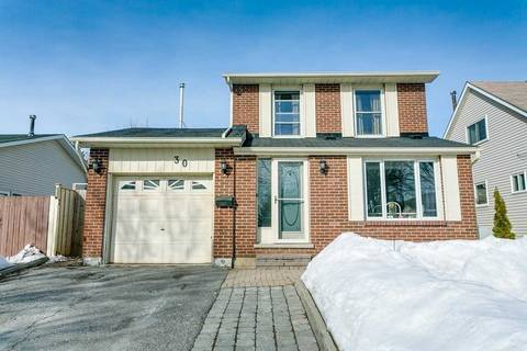 House for sale at 30 Brooksbank Cres Ajax Ontario - MLS: E4388118