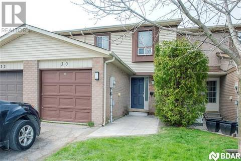 Townhouse for sale at 30 Burns Circ Barrie Ontario - MLS: 30734114