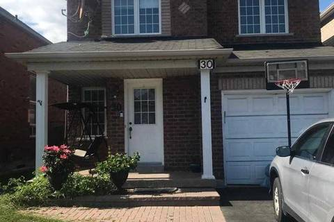 House for rent at 30 Canoe Cres Toronto Ontario - MLS: E4576847