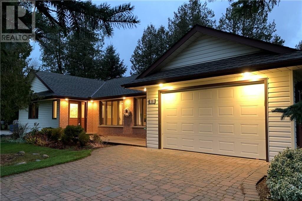 House for sale at 30 Cedar Bush Dr Southampton Ontario - MLS: 40032928