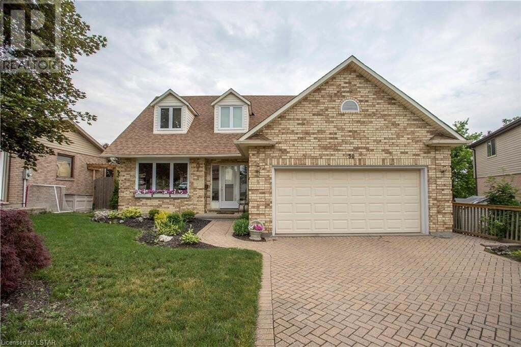 House for sale at 30 Chalet Ct London Ontario - MLS: 268382