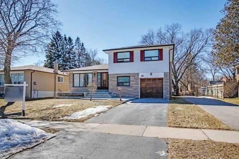 House for sale at 30 Donnacona Cres Toronto Ontario - MLS: E4393328