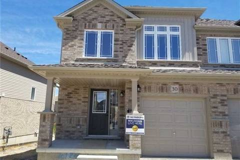 Townhouse for sale at 30 Drone Cres Guelph Ontario - MLS: X4455977