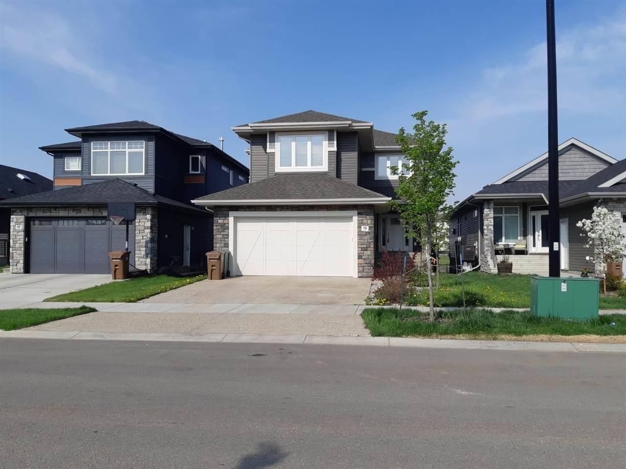 House for sale at 30 Elise Pl St. Albert Alberta - MLS: E4158724