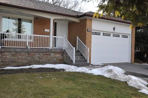 House for rent at 30 Fulwell Cres Toronto Ontario - MLS: W4719310