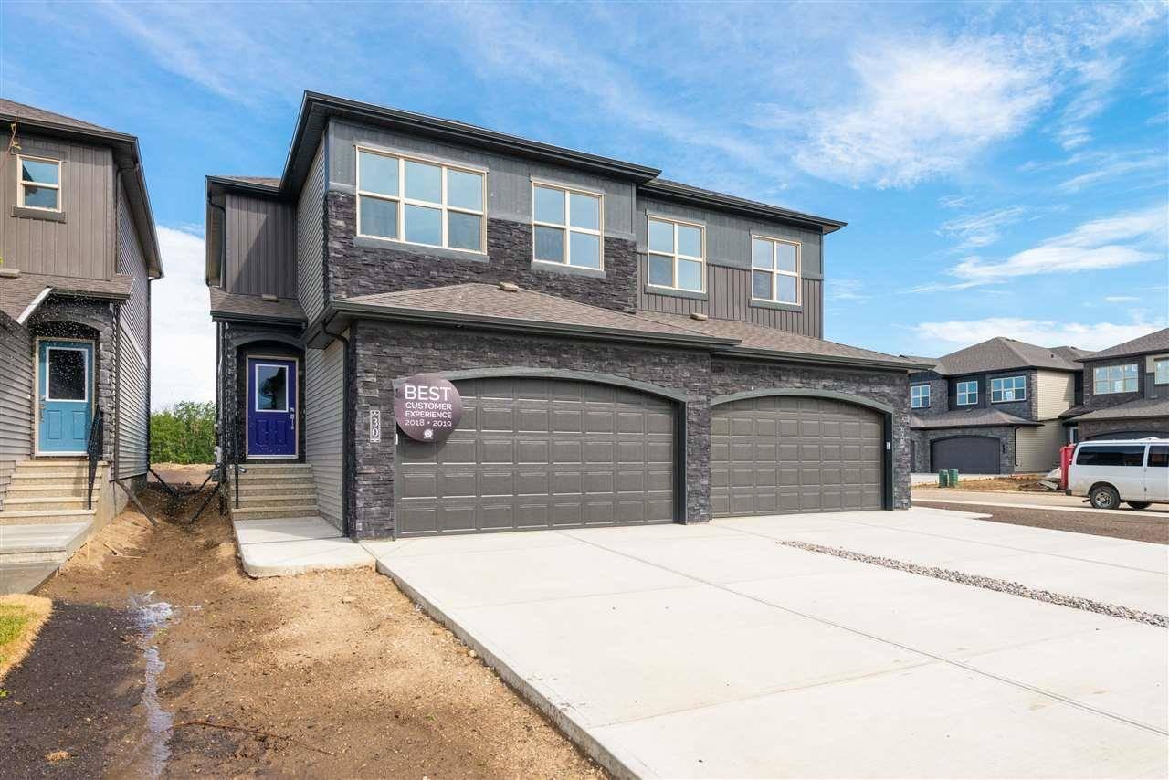 Townhouse for sale at 30 Gladstone Bn  Spruce Grove Alberta - MLS: E4178049