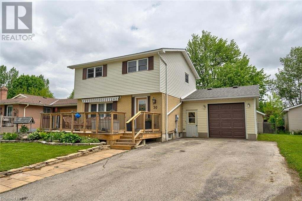 House for sale at 30 Graham Cres Stratford Ontario - MLS: 263389