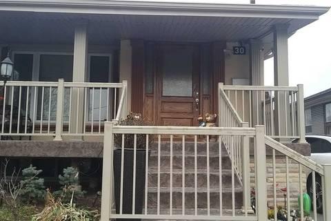 Townhouse for sale at 30 Gravenhurst Ave Toronto Ontario - MLS: W4720001