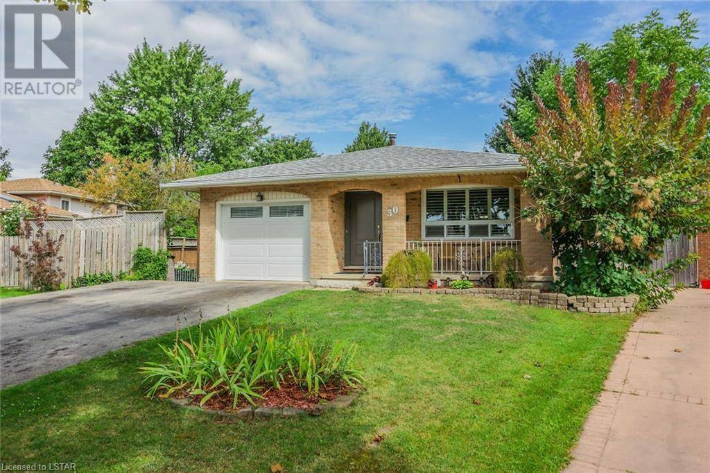 House for sale at 30 Hart Cres London Ontario - MLS: 220807