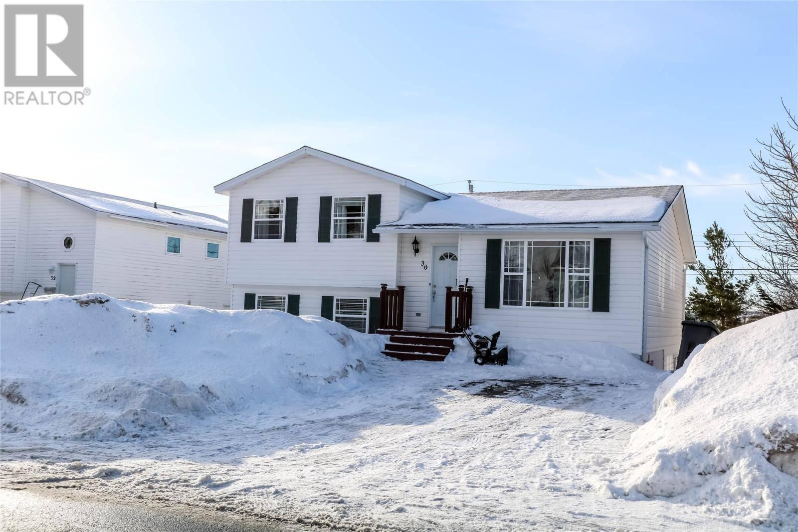 House for sale at 30 Hemmer Jane Dr Mt. Pearl Newfoundland - MLS: 1209652
