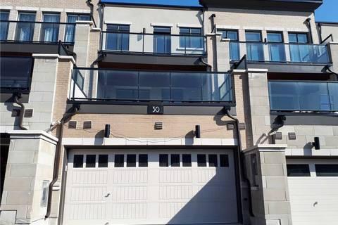 Townhouse for sale at 30 Heriot Pl Vaughan Ontario - MLS: N4445735
