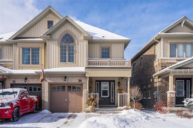 For Sale: 30 Hoard Avenue, New Tecumseth, ON | 3 Bed, 3 Bath Townhouse for $549,900. See 20 photos!