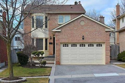House for sale at 30 Moorcrest Dr Aurora Ontario - MLS: N4399354
