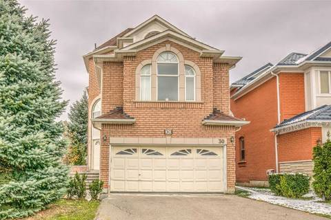 House for sale at 30 Peninsula Cres Richmond Hill Ontario - MLS: N4639745