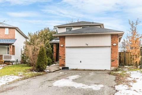 House for sale at 30 Rosenfeld Dr Barrie Ontario - MLS: S4726662