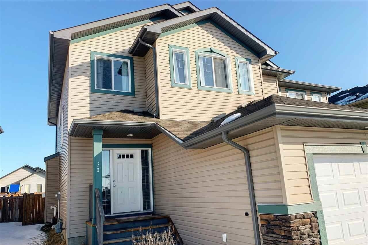 Townhouse for sale at 30 South Creek Wd South Stony Plain Alberta - MLS: E4191585
