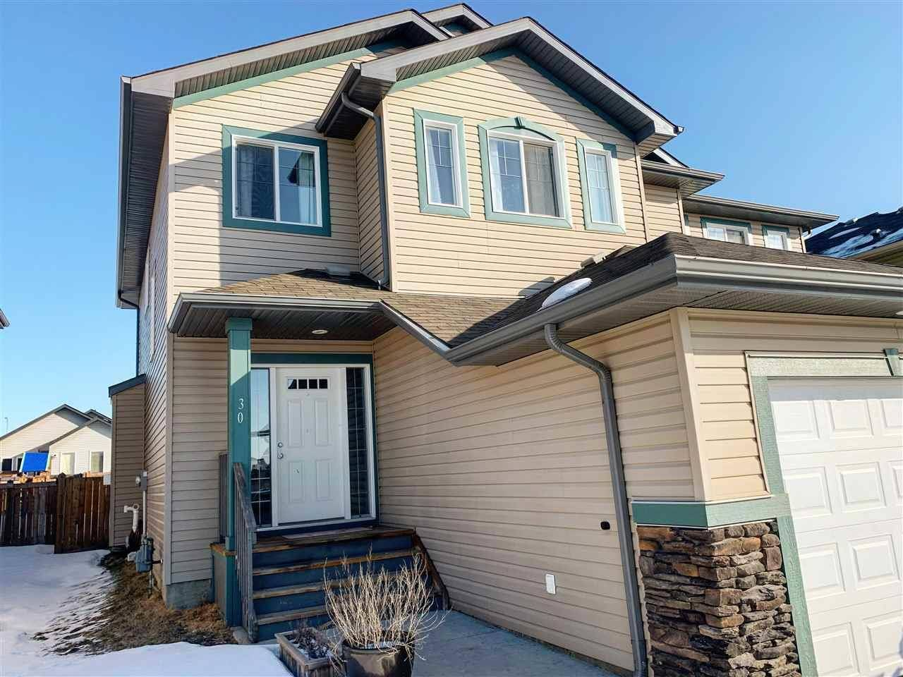 Townhouse for sale at 30 Creek Wd South Stony Plain Alberta - MLS: E4191585