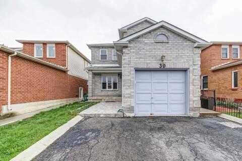 House for sale at 30 Woodside Ct Brampton Ontario - MLS: W4766784